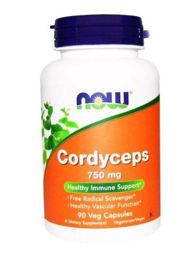 Now Foods Cordyceps 750 mg 90 Vege Kapseln