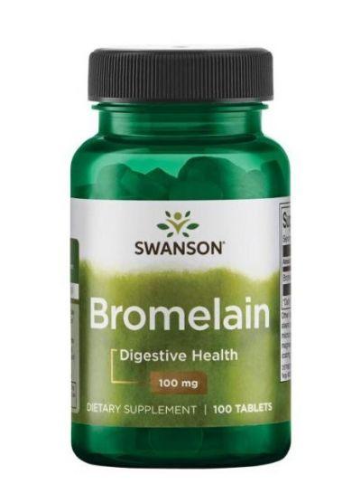 Swanson Bromelain 100 mg 100 Tabletten
