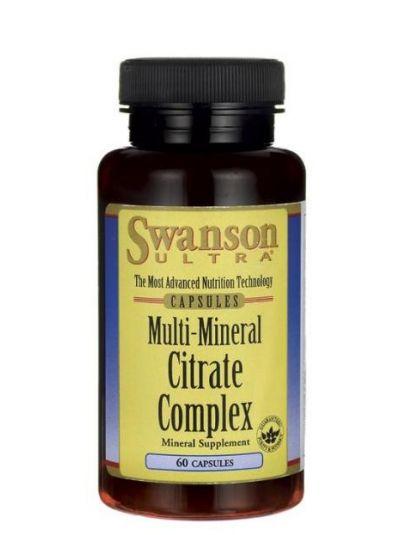 Swanson Multi-Mineral Citrate Komplex 60 Kapseln