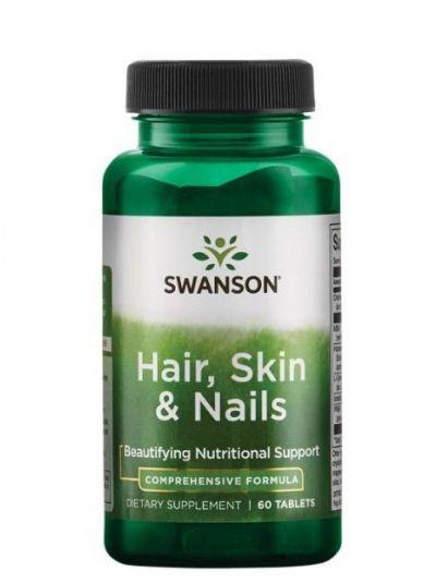 Swanson Haar, Haut, Nägel 60 Tabletten