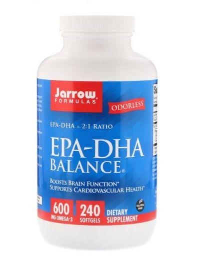 Jarrow Formulas EPA-DHA Balance 240 Softgels