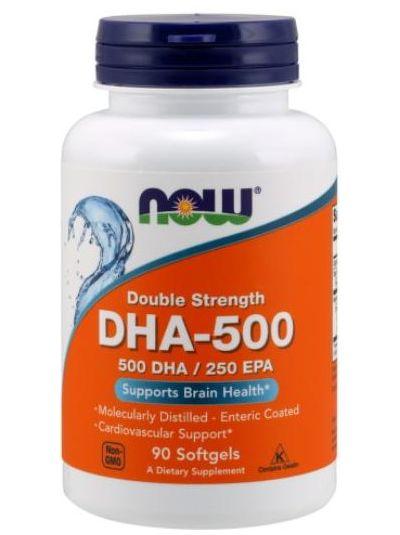 Now Foods DHA-500/EPA-250 doppelte Stärke 90 Softgelkapseln