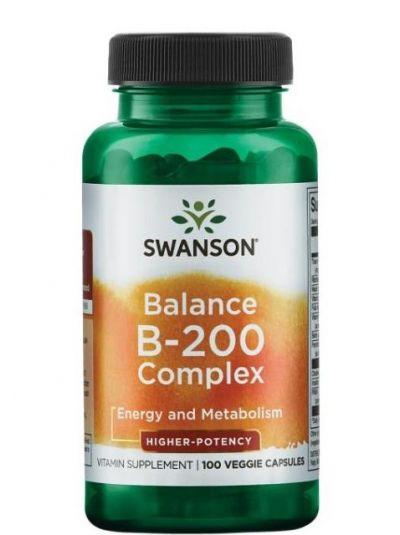 Swanson Balance B-200 Komplex 100 Kapseln
