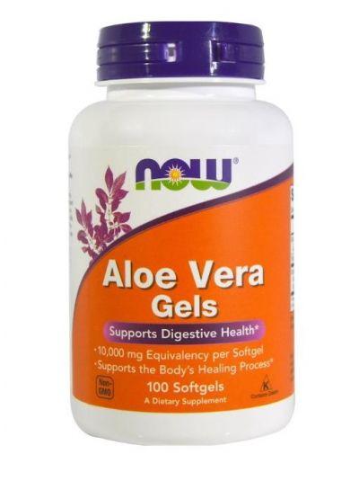 Now Foods Aloe Vera Geltabletten 100 Softgels