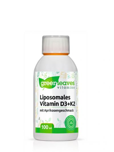 Green Leaves Liposomales Vitamin D3 + K2 100 ml