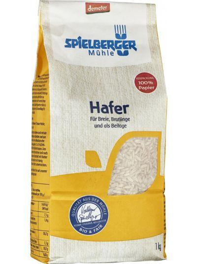 SPIELBERGER MÜHLE Hafer geschält Bio demeter 1kg