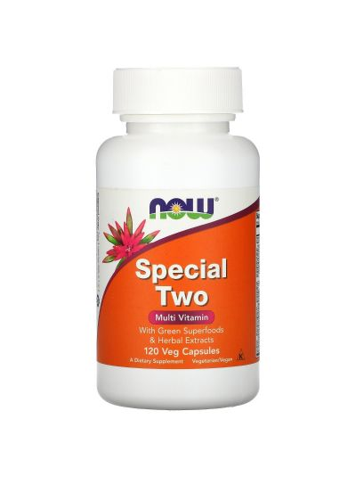 NOW FOODS SPECIAL TWO MULTI VITAMIN 240 VEGE KAPSELN