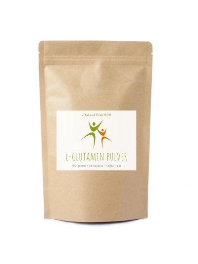 Vitalundfitmit100 L-Glutamin Pulver 300 g