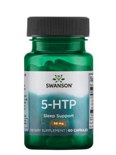 SWANSON 5-HTP 50 MG 60 KAPSELN