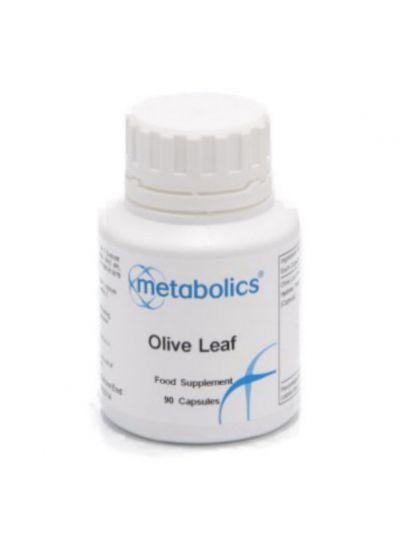 Metabolics Oliven Blatt Extrakt 20% Oleuropein 90 Kapseln