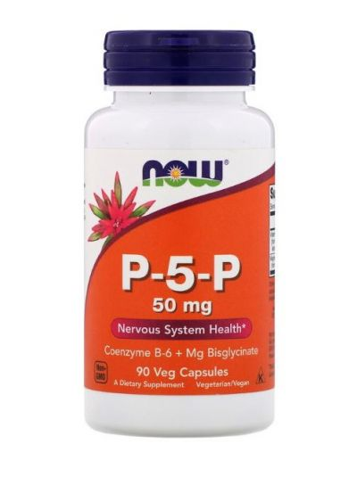Now Foods Vitamin B6 P-5-P 50 mg 90 vegetarische Kapseln