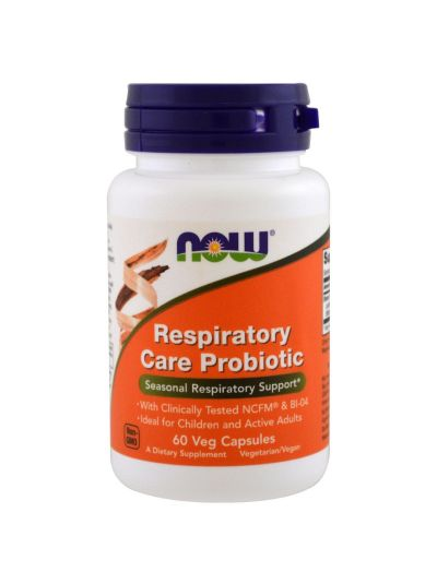 Now Foods Probiotische Pflege der Atemwege 60 Kapseln