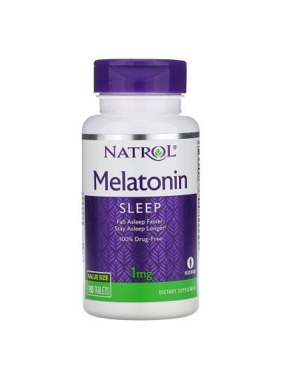Natrol Melatonin 1 mg, 180 Tabletten