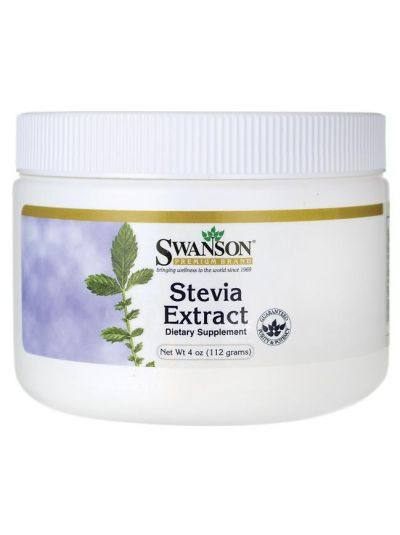 Swanson Stevia-Extraktpulver 113g