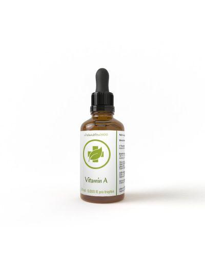Vitalundfitmit100 Vitamin A - flüssig 50 ml (500 mcg/ 5000 IE pro Tropfen)