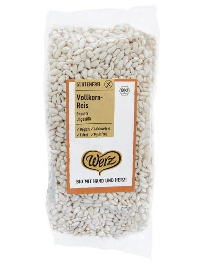 Werz Vollkorn-Reis gepufft 125 G