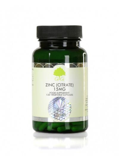 G&G VITAMINS Zink (Citrat) 15 mg - 120 Kapseln